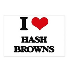 I Love Hash Browns Postcards (Package of 8)