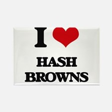 I Love Hash Browns Magnets