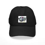 Silver Wyandotte Chickens Black Cap