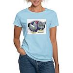Silver Wyandotte Chickens Women's Light T-Shirt