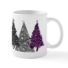 Asexual Christmas Trees Mugs