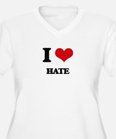 I Love Hate Plus Size T-Shirt