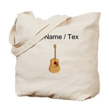 Custom Acoustic Guitar Tote Bag