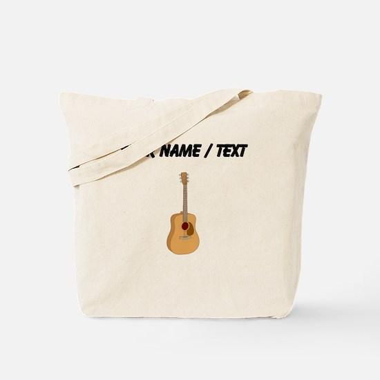 Custom Acoustic Guitar Tote Bag