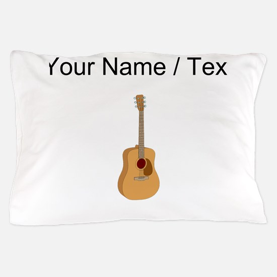 Custom Acoustic Guitar Pillow Case