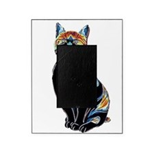 Psychedelic Solarized Kitty Picture Frame