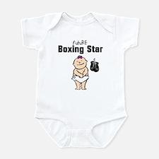 Future Boxing Star Girl Infant Bodysuit