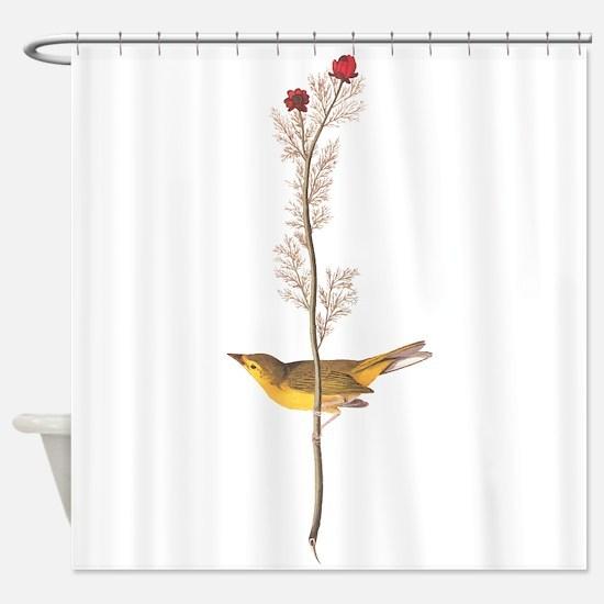 Audubon Selby's Fly Catcher Shower Curtain
