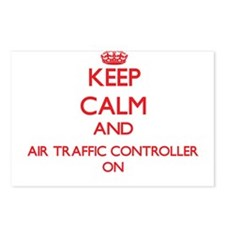 Keep Calm and Air Traffic Postcards (Package of 8)