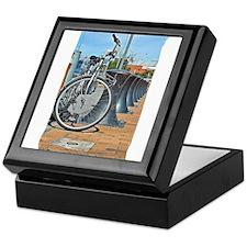 Bikes & Bollards Keepsake Box