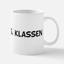 Future Mrs. Klassen  Mug
