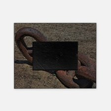Rusty Chain Picture Frame