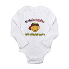 Cute My part Long Sleeve Infant Bodysuit