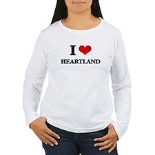 I Love Heartland Long Sleeve T-Shirt