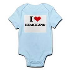 I Love Heartland Body Suit