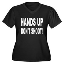 HANDS UP: Plus Size T-Shirt