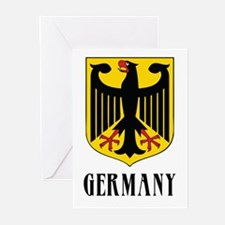 German Coat of Arms Greeting Cards (Pk of 10)