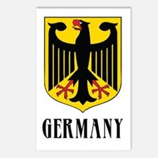 German Coat of Arms Postcards (Package of 8)