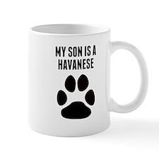 My Son Is A Havanese Mugs