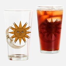 SunNMoon.gif Drinking Glass