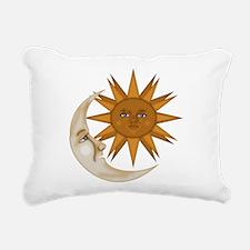 SunNMoon.gif Rectangular Canvas Pillow