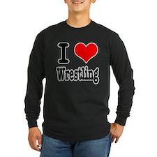I Heart (Love) Wrestling T