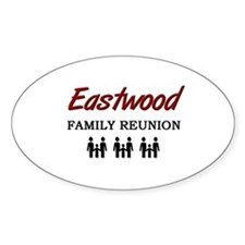 Eastwood Family Reunion Oval Decal
