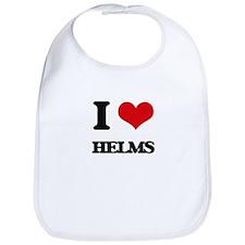 I Love Helms Bib