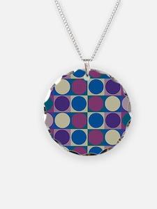 Op Art Pop Art Necklace