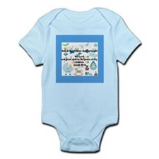 Children Taught of the Lord Design Body Suit