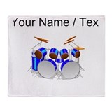 Drums Fleece Blankets