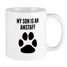 My Son Is An AmStaff Mugs