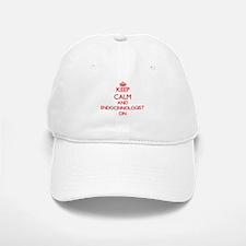 Keep Calm and Endocrinologist ON Baseball Baseball Cap