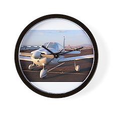 Low wing Aircraft at Page, Arizona, USA Wall Clock