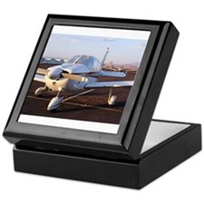 Low wing Aircraft at Page, Arizona, U Keepsake Box