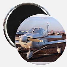 Low wing Aircraft at Page, Arizona, USA 8 Magnets