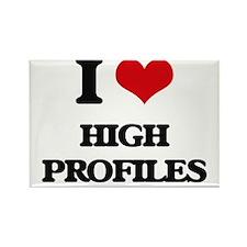 I Love High Profiles Magnets