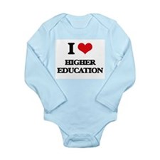 I Love Higher Education Body Suit