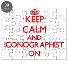 Keep Calm and Iconographist ON Puzzle