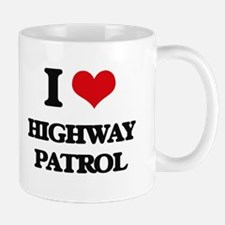 I Love Highway Patrol Mugs