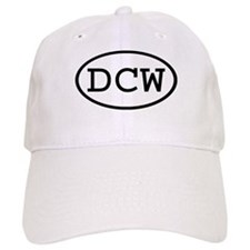 DCW Oval Baseball Cap