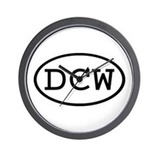 DCW Oval Wall Clock