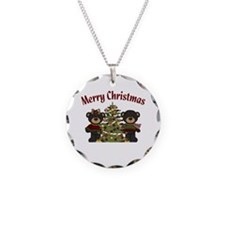 Christmas Bears Necklace
