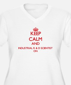 Keep Calm and Industrial R & D S Plus Size T-Shirt