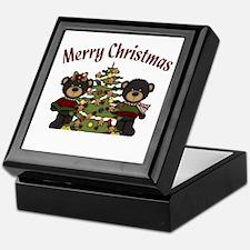Christmas Bears Keepsake Box