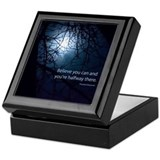 Inspirational Square Keepsake Boxes