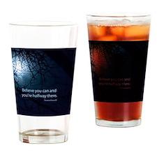 Unique Optimism Drinking Glass