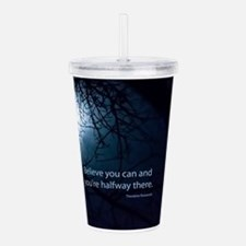 Cute Quotes Acrylic Double-wall Tumbler