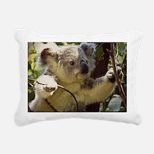 Sweet Baby Koala Rectangular Canvas Pillow