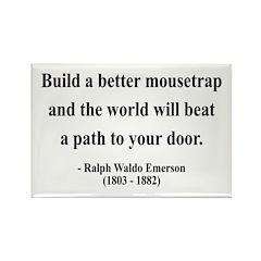 Ralph Waldo Emerson 8 Rectangle Magnet (100 pack)